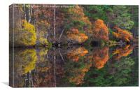 Autumn Reflections, Canvas Print