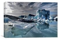 Dramatic Iceberg, Canvas Print