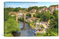 Knaresborough  Yorkshire, Canvas Print