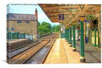 The Station  Knaresborough  Yorkshire, Canvas Print