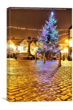 Christmas in Knaresborough 3, Canvas Print