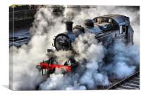 41312 Raises Steam 1, Canvas Print