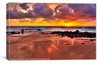Spectacular Kauai Sunrise, Canvas Print
