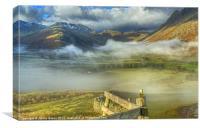 Langdale, Lake District, Canvas Print