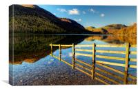 Fence at Buttermere, Canvas Print