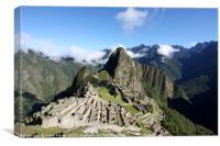 Machu Picchu, Peru , Canvas Print
