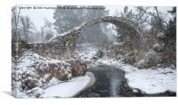 Packhorse Bridge Carrbridge, Canvas Print