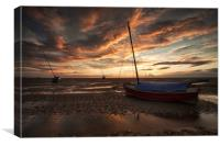 """""""Sunset on the Shore"""", Canvas Print"""