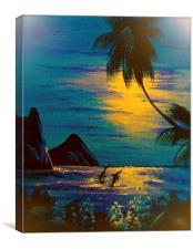 A Little bit of Paradise  , Canvas Print