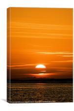 Sharm Sunrise 7, Canvas Print
