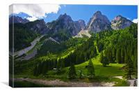 Alpine majesty, Canvas Print