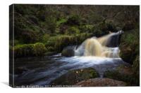 Wyming Brook Flow, Canvas Print
