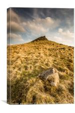 The Crest of Crook Hill, Canvas Print