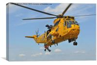 R A F Sea King Search and Rescue, Canvas Print