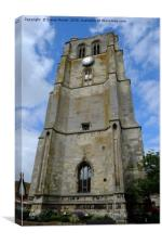 The Bell Tower Beccles, Canvas Print