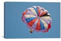 Gliders at five o clock high, Canvas Print