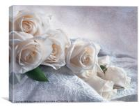 A Spill of Roses, Canvas Print