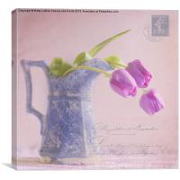 des tulipe, Canvas Print