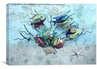 Tropical Fish 2, Canvas Print