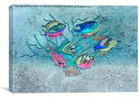 Tropical Fish 1, Canvas Print