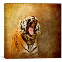 I Am Woman, Hear Me Roar, Canvas Print