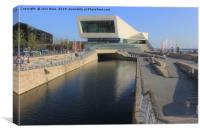 The Museum of Liverpool, Canvas Print