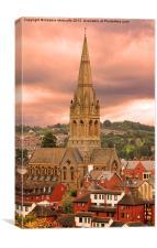 St Michaels Church, Exeter, Canvas Print