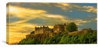 Stirling Castle at Dusk, Canvas Print