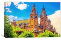 Kelvingrove Art Gallery Glasgow, Canvas Print