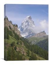 The Matterhorn , Canvas Print