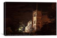 St.Marys Church Kidderminster, Canvas Print