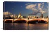 City of London, Canvas Print