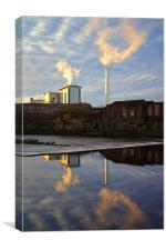 Urban Reflections 2, Canvas Print