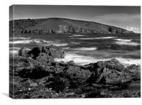Wembury Bay, Canvas Print