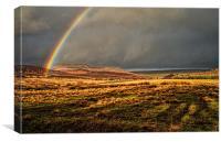 Rainbows End 2, Canvas Print