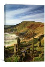 Footpath To Mam Tor , Canvas Print
