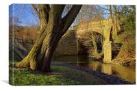 Archer Road Bridge & River Sheaf, Canvas Print