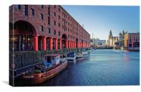 Albert Dock, Liverpool                            , Canvas Print