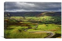 The Long and Winding Road                         , Canvas Print
