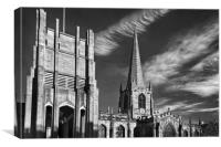 Sheffield Cathedral                    , Canvas Print