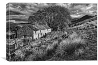 Old Farmhouse,Hope Valley                        , Canvas Print