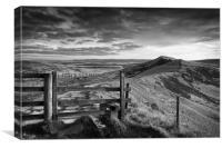 Gateway Along The Great Ridge                     , Canvas Print