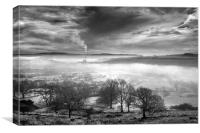 Hope Valley Inversion                             , Canvas Print