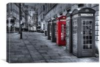 The Red Box, Canvas Print