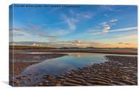 Aberffraw Beach, Canvas Print