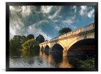 Bridge over the Serpentine , Framed Print