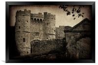 Carisbrooke Castle., Framed Print