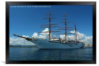 Sea cloud 2, Framed Print