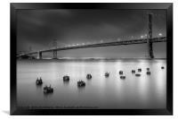 The Bay Bridge, San Francisco, Framed Print