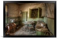 Tom Miller House - Bodie Ghost Town, Framed Print